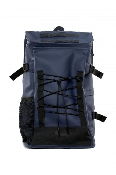 Rains Rucksack Groß Dunkelblau Mountaineer Bag Blau