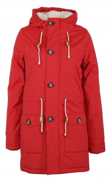 Derbe Festland Friese Damen Rot Winterjacke