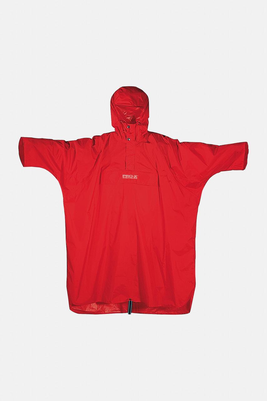 Regen-Poncho Matterhorn Rot Rucksackponcho