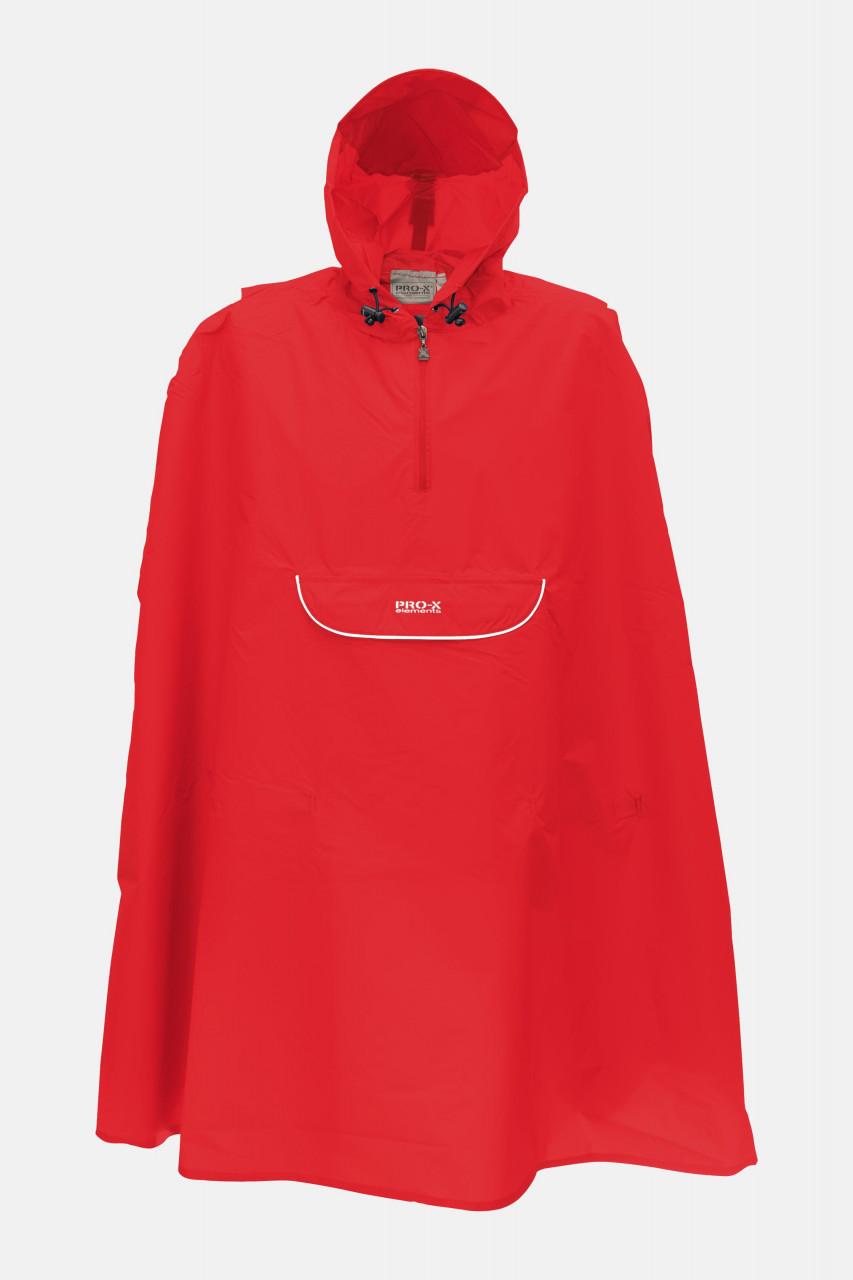 Kinder-Regen-Poncho Pasino Rot Pro-X