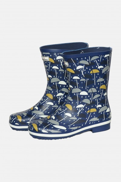 Seasalt Gummistiefel Regenschirme Deck Wellies Brolly Geo dark Voyage