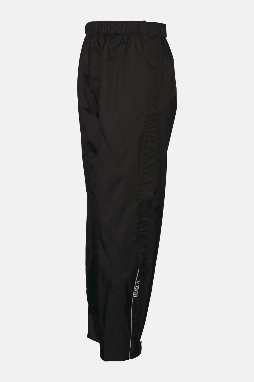 Kinder-Regenhose Säntis Schwarz Überhose Pro-X