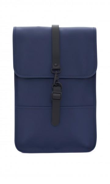 Rains Rucksack Klein Blau Wasserdicht Backpack Mini Blue