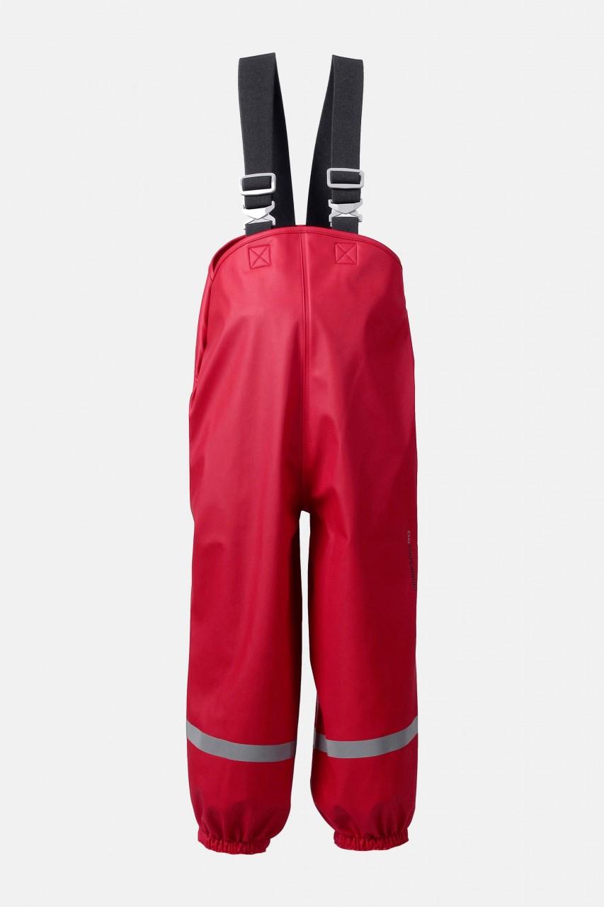 Didriksons Kinder-Regenhose Rot Plaskeman Buddelhose Matschhose