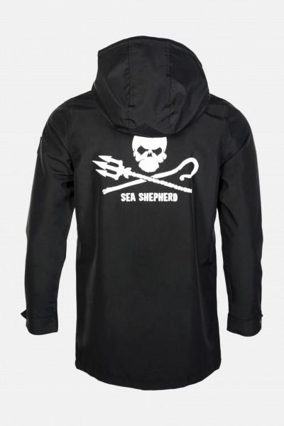 Derbe Sea Shepherd Jacke Stichling Herren Schwarz