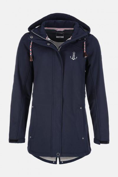 Damen Softshell-Jacke Blau
