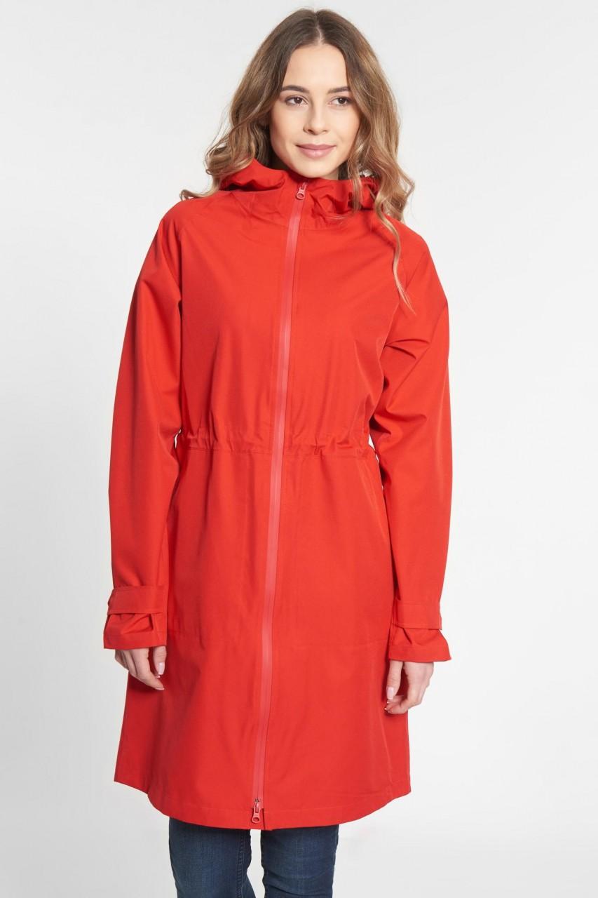 Derbe Future Travel 2 Damen Regenjacke Rot
