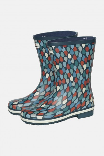 Seasalt Gummistiefel Deck Wellies Regentropfen