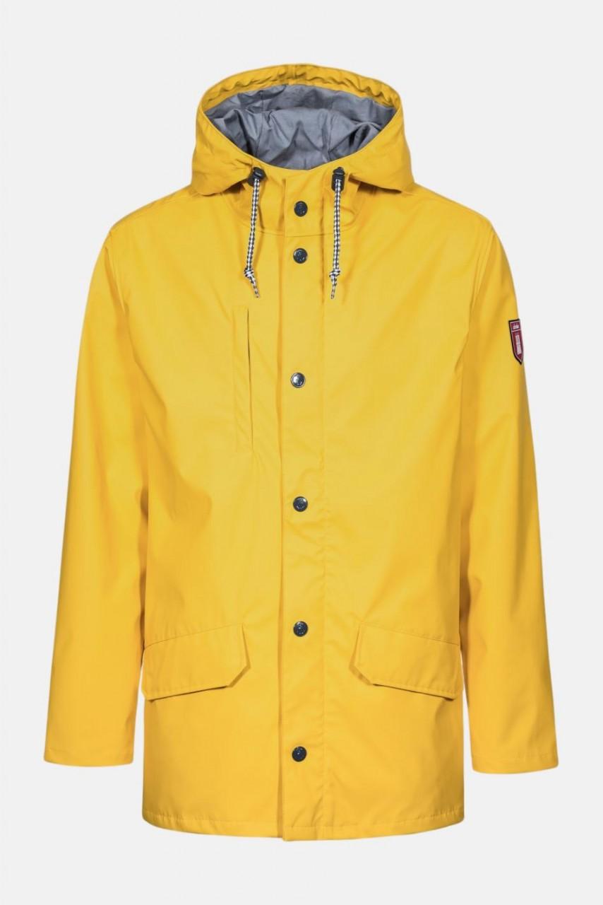 Derbe Passenger 2 Gelb Herren Regenjacke Nachhaltig