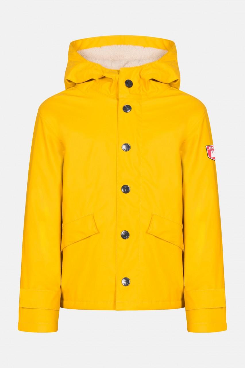 Derbe Kinder Passenger Cozy Kids Regenjacke Gelb Gefüttert