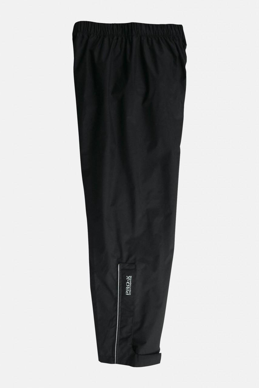 Kinder-Regenhose Toma Schwarz Überhose Pro-X