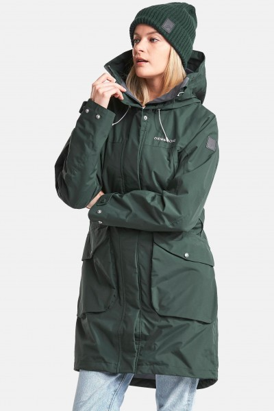 Didriksons Thelma Damen Parka North Sea Türkis