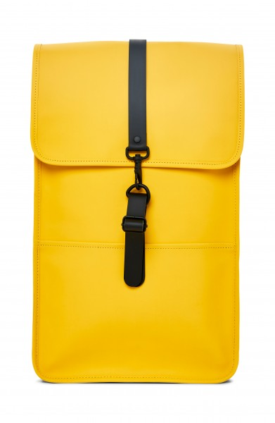 Rains Rucksack Gelb Wasserdicht Backpack Yellow